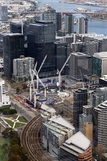 EUREKA SKYDECK, MELBOURNE QUARTER UNDER CONSTRUCTION, MELBOURNE © | by 32 Blocks