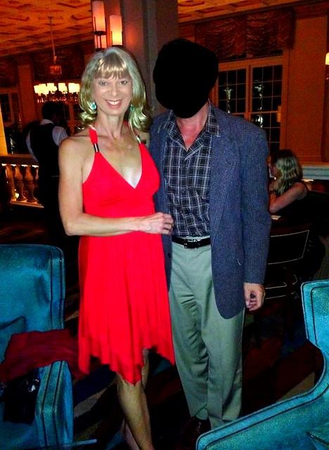 Red Dress Date Night Photo