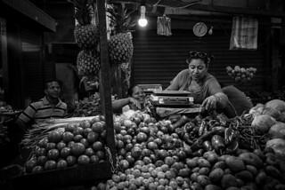 Market People in BW, Cartagena (Colombia)   by ufapix