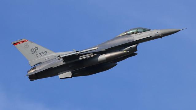 USAF F-16CM Fighting Falcon 91-0358