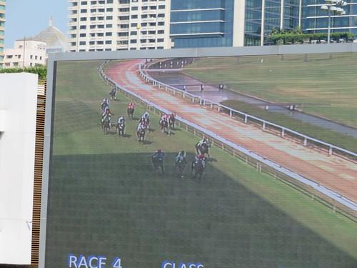 ロイヤルバンコクスポーツクラブのレース風景
