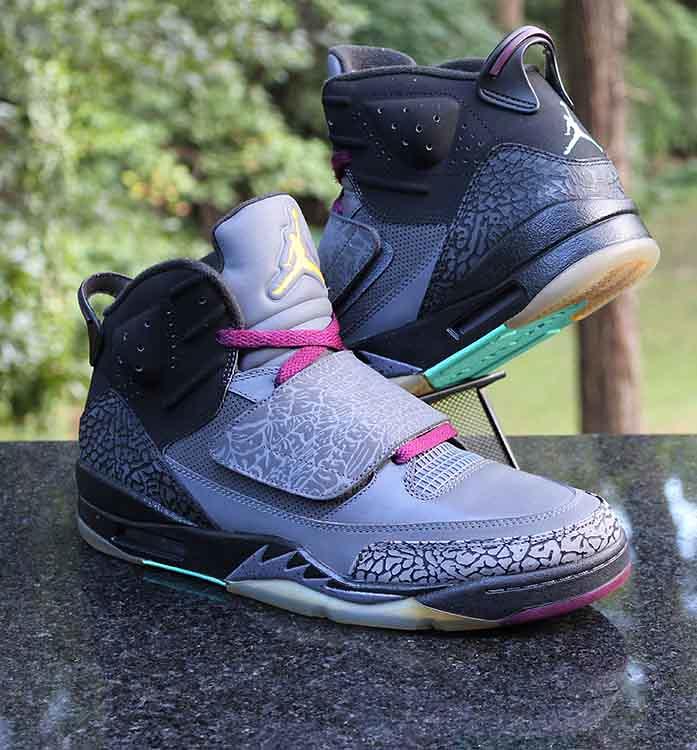 buy popular ce6d6 cd03a ... Nike Air Jordan Son of Mars Bordeaux 512245-038 Grey Men s Size 10.5    by