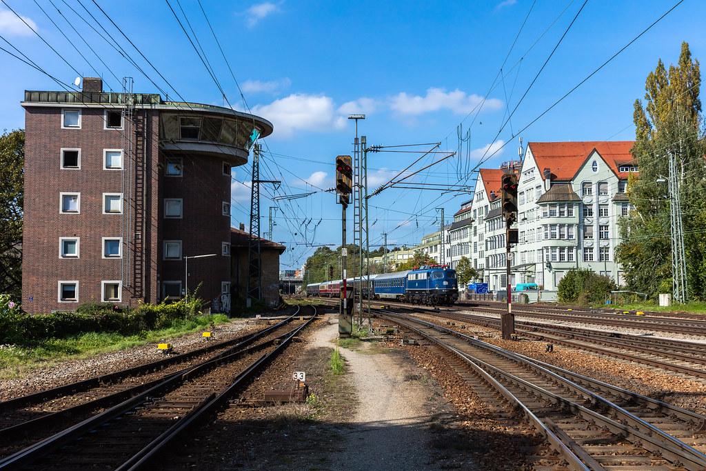 München Süd 110 428 Mit Dpe 19797 Mannheim Hbf Villach H