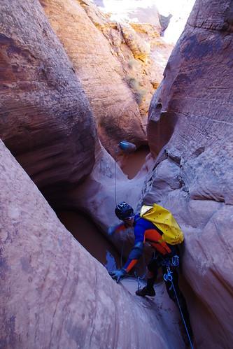 exemples de marmites pièges, marmita trempa, keeper pothole | by canyons d'ici et d'ailleurs