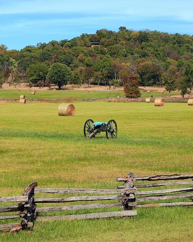 Civil War Artillery, Pea Ridge National Military Park - Benton County, Arkansas