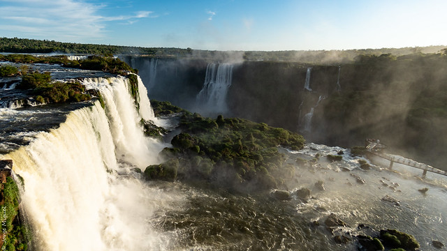 Cataratas del Iguazu - Salto Union y Salto Belgrano - 01676