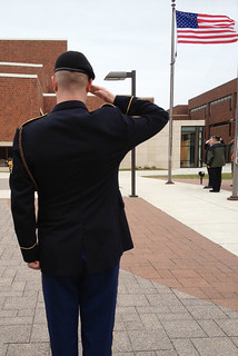 Mon, 11/11/2013 - 12:27 - A photograph from a previous Veterans Day Ceremony at GCC's Batavia Campus