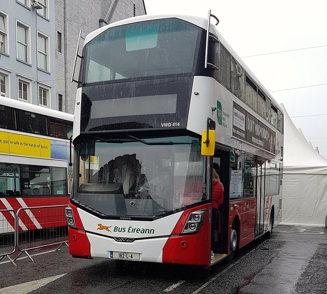 VWD414 On Display at O'Connell Street Limerick for