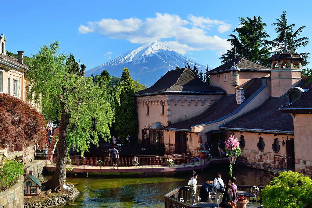 Kawaguchiko Music Forest Museum,河口湖音樂盒之森美術館