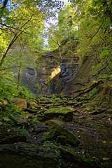 Höchster Wasserfall der Schwäbischen Alb
