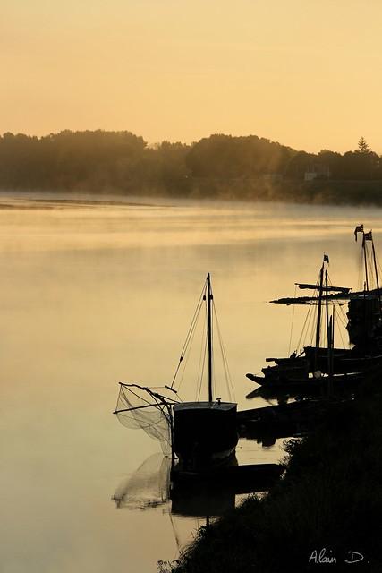 Au petit matin sur la Loire