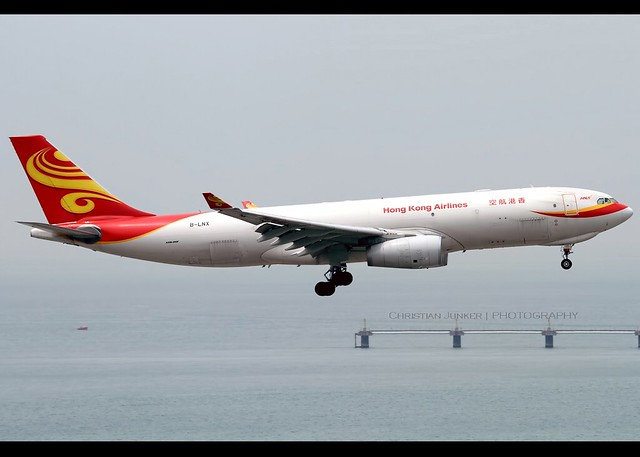 A330-243/F | Hong Kong Airlines Cargo | B-LNX | HKG