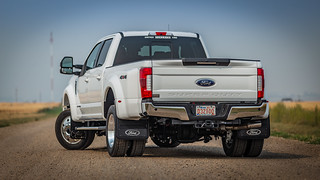 White Super Duty Dually | by truckhardware