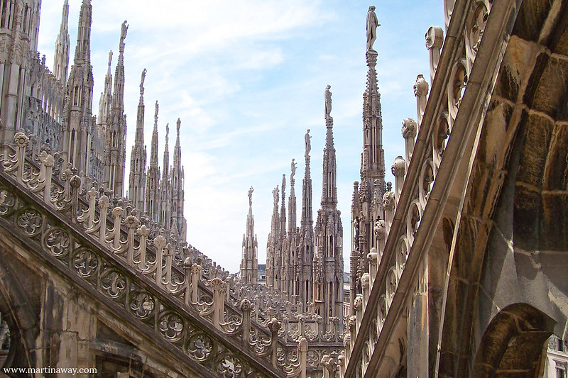 Terrazze del Duomo di Milano