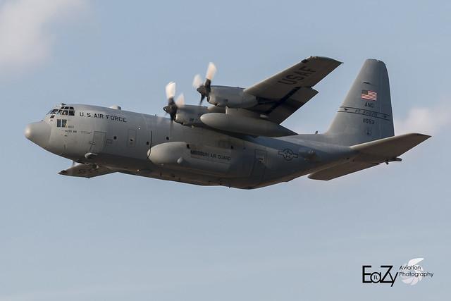 91-1653 United States Air Force Lockheed C-130H Hercules