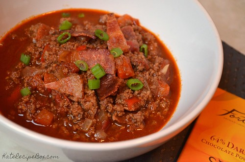 WhiskyChocolateBaconChili1 | by katesrecipebox