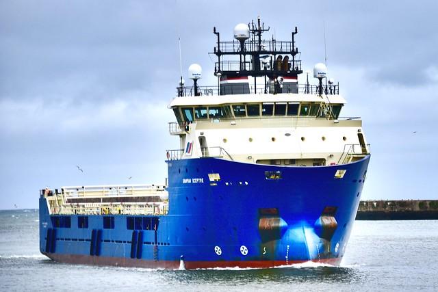 Grampian Sceptre - Aberdeen Harbour Scotland - 7/10/18