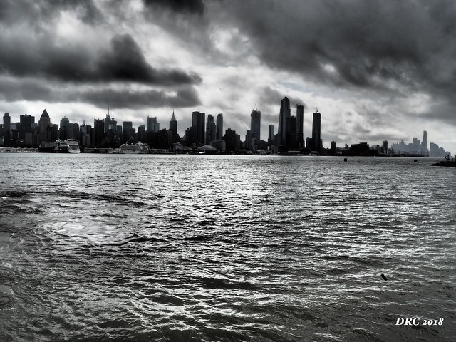 Dark Clouds over NYC
