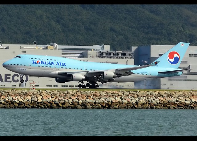 B747-4B5 | Korean Air | HL7498 | HKG