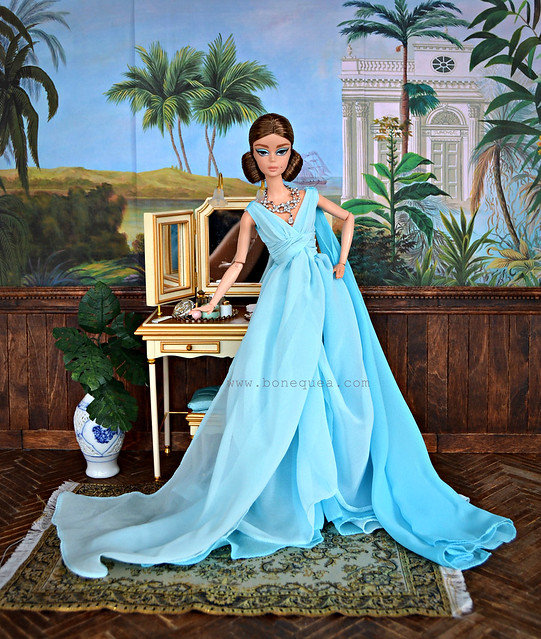 Blue Chiffon Ball Gown Barbie