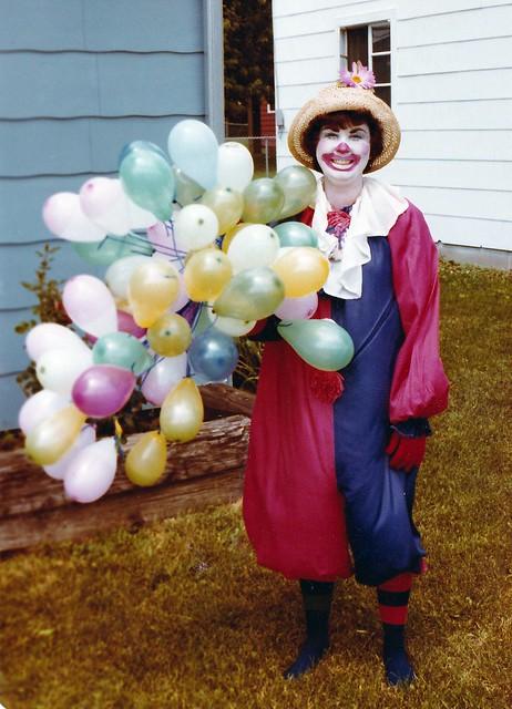 SCN_0003 story hour 1979 clown Becky de Joode