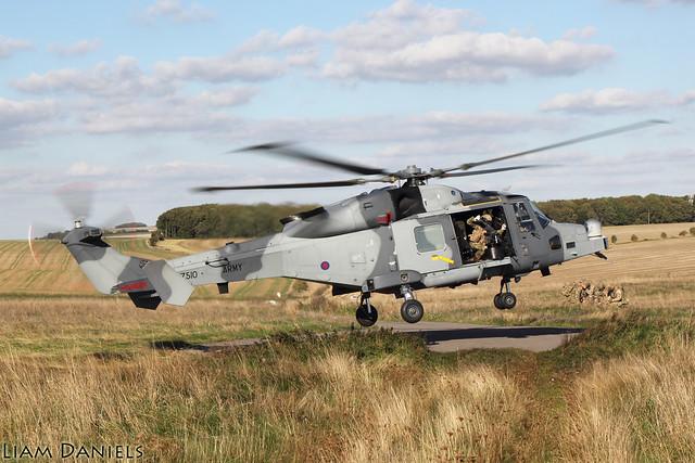 Agusta Westland Wildcat AH1 - ZZ510 - AAC
