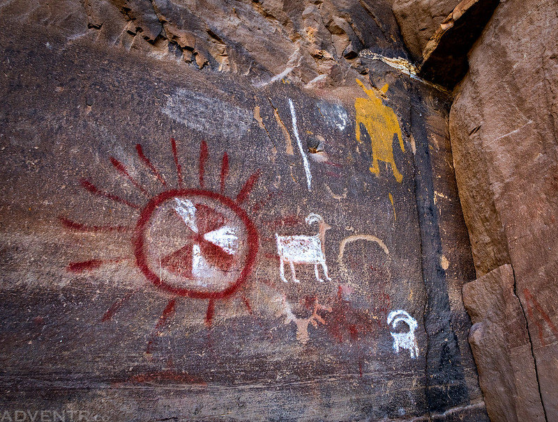 Colorful Pictographs