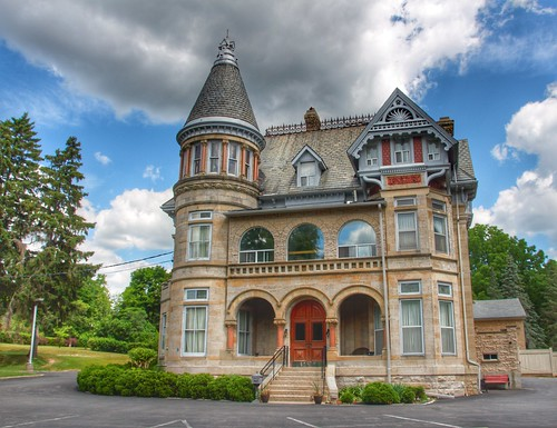 Paris Ontario - Canada - Penmarvian Retirement Home -  AKA - Riverview Hall - Heritage | by Onasill ~ Bill Badzo