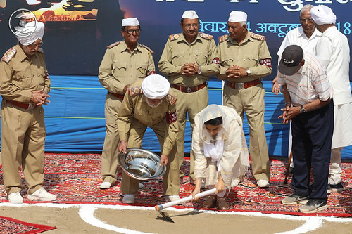 Satguru Mata Ji inaugurated voluntary Sewa for Samagam