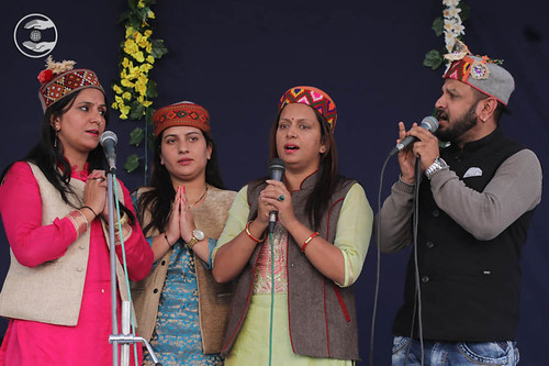 Devotional song by Kuldeep Sharma and Saathi from Shimla HP