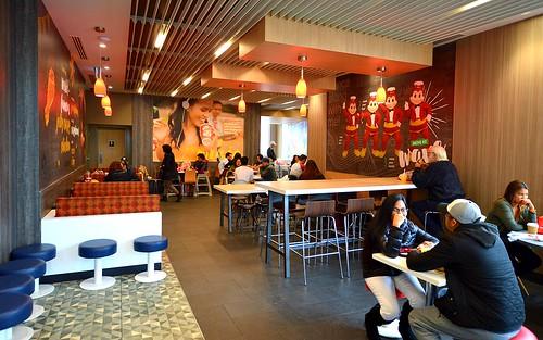 scarboroughontario jollibee jollibeerestaurant jollibeecanada jollibeetoronto 15williamkitchenroad fastfood filipinofood interiorjollibee jollibeerestaurantinterior interiorphotography