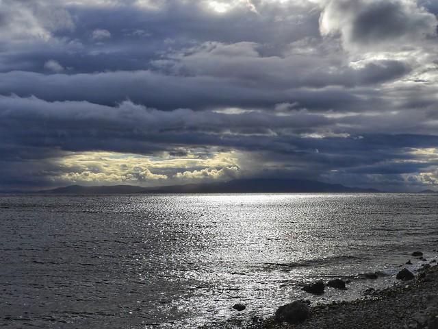 cloudy sunrise