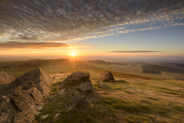 Autumn Sunrise at Bradgate
