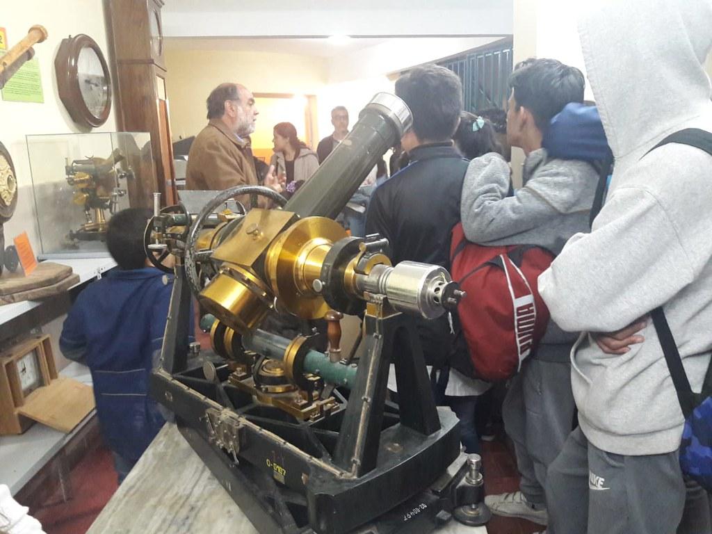 2018-10-10 SECITI: Alumnos secundarios visitaron el Observatorio Félix Aguilar