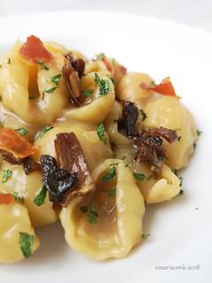 pasta patate porcini e bacon 2 | by rosaria68