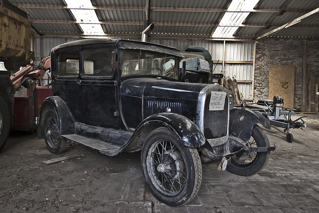 Ford Model A Tudor Sedan 1928 (2688)