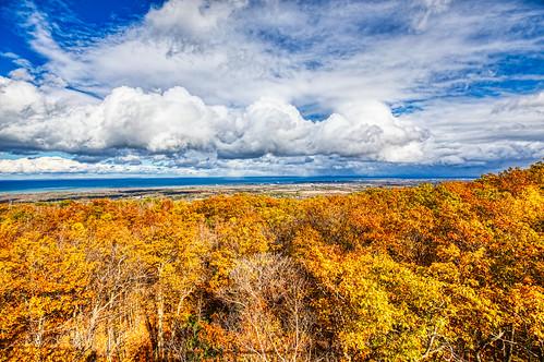 blue mountain fall ontario