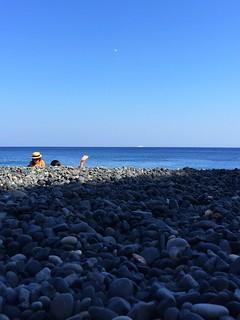 Mavra Volia beach, Chios, Greece