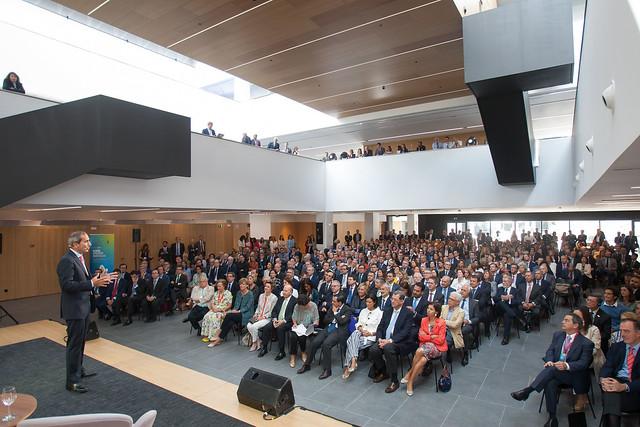 Inauguración Edificio Alumni de Madrid