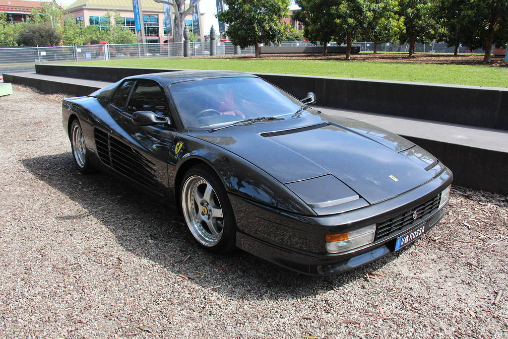 1988 Ferrari Testarossa Ferrari Is An Italian Luxury Sport Flickr