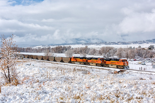 bnsf8780 coalempty coloradorailroads coloradotrains castlerock colorado unitedstates us