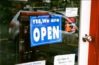 Yes, We Are Open | by Matthew Paul Argall
