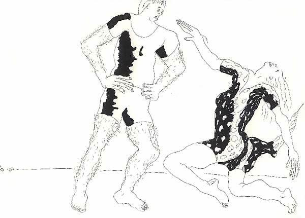 ... dessins de la relation homme-femme et de l'amour dessin homme femme esquisse