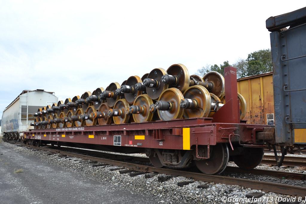 CN 48944 Flat Car | Trucks, Buses, & Trains by granitefan713