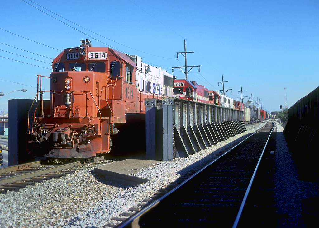 ICG GP38-2 9614 | Illinois Central Gulf Railroad GP38-2 9614