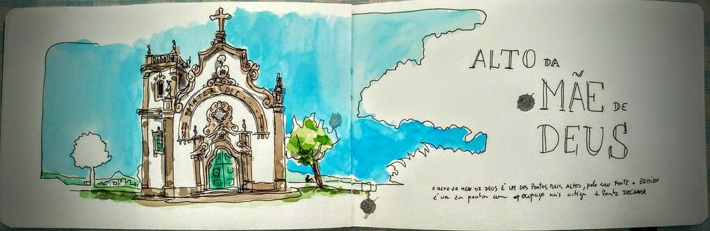 Alto da Mãe de Deus, Ilha de São Miguel - Portugal