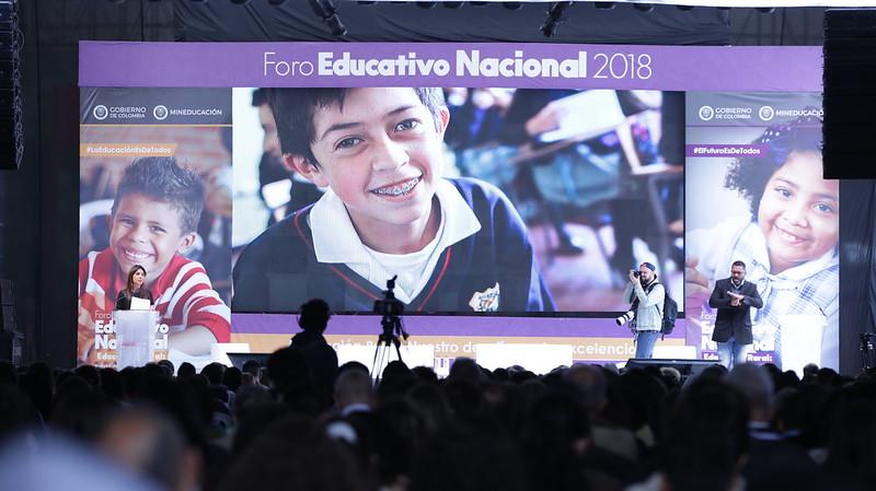 Foro Educativo Nacional 2018 'Educación rural: nuestro desafío por la excelencia'. 10 de octubre de 2018