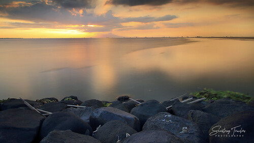 manilabay sunset manila philippines sun longexposure rock sea seascape landscape seaside shore coast water waterscape sky cloud outdoor