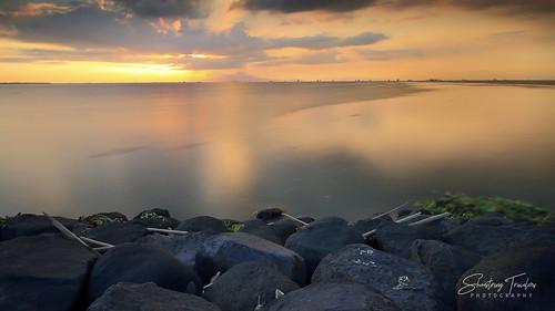 manilabay sunset manila philippines sun longexposure rock sea seascape landscape seaside shore coast water waterscape sky cloud outdoor