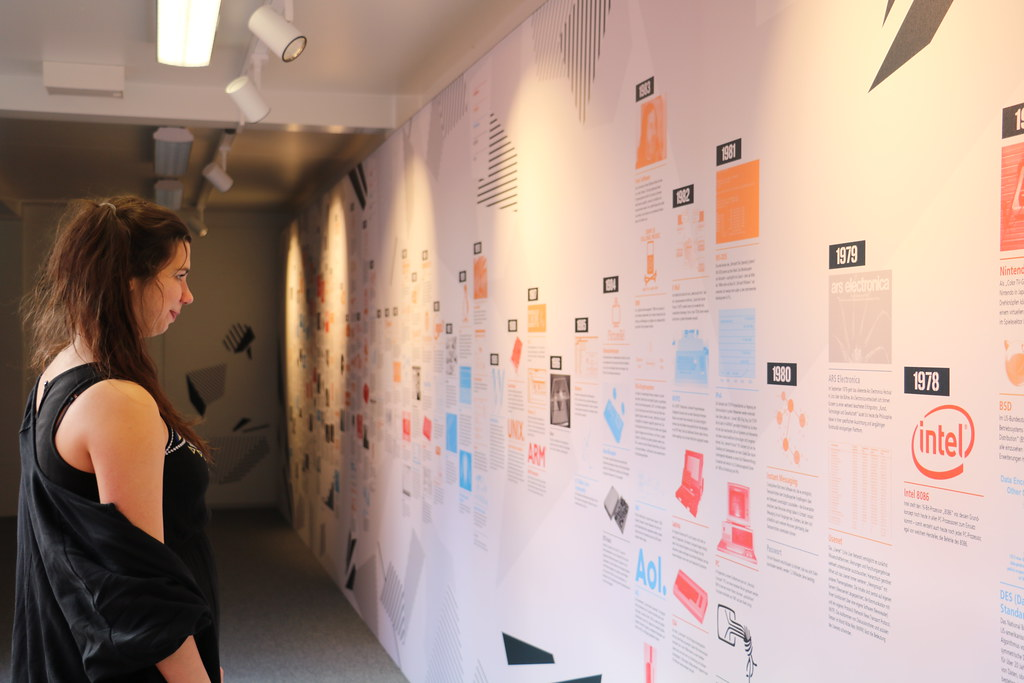 Internet Timeline   Credit: Ars Electronica / My Trinh Mülle…   Ars  Electronica   Flickr